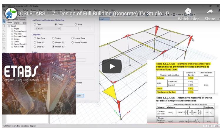 Design Of Full Building Concrete By Using Csi Etabs And Csi Safe Part 1 2 Civil Mdc