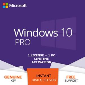 Microsoft Windows 10 Pro KEY